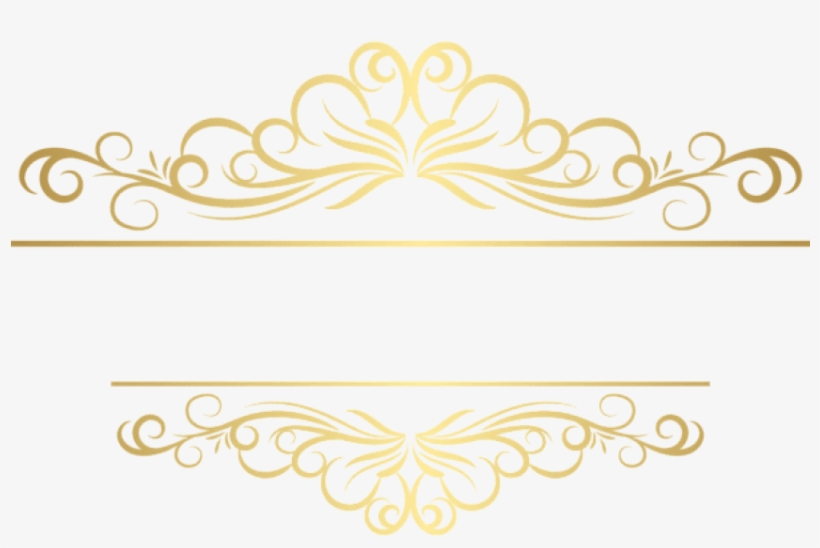 Download Gold Deco Ornament Png Clipart Png Photo Transparent Png 850x535 Free Download On Nicepng