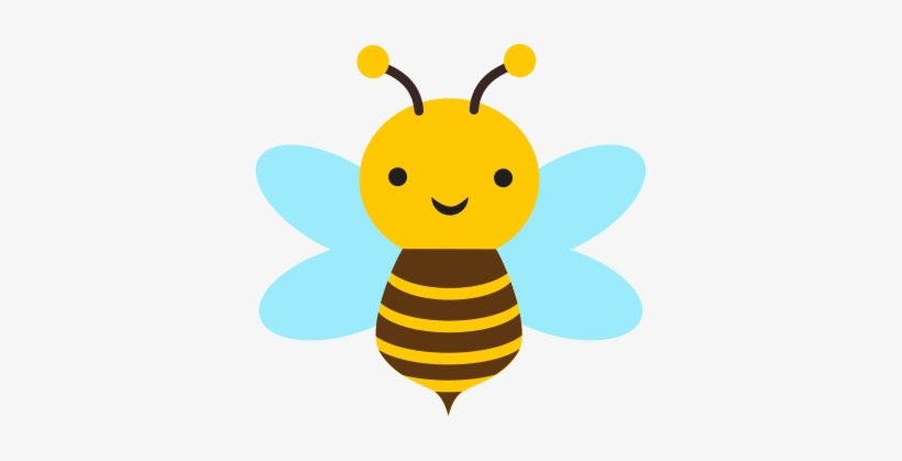 Cute Bee Clip Art Transparent Png 355x339 Free Download On Nicepng