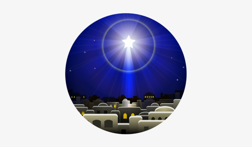 Christmas Star Clipart Free Image Christmas Star Circle Sign Of Jesus Birth Transparent Png 399x400 Free Download On Nicepng