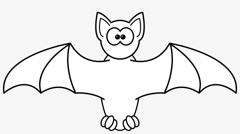 Halloween Bats Clipart Halloween Bat Clipart Black And White Transparent Png 1871x952 Free Download On Nicepng