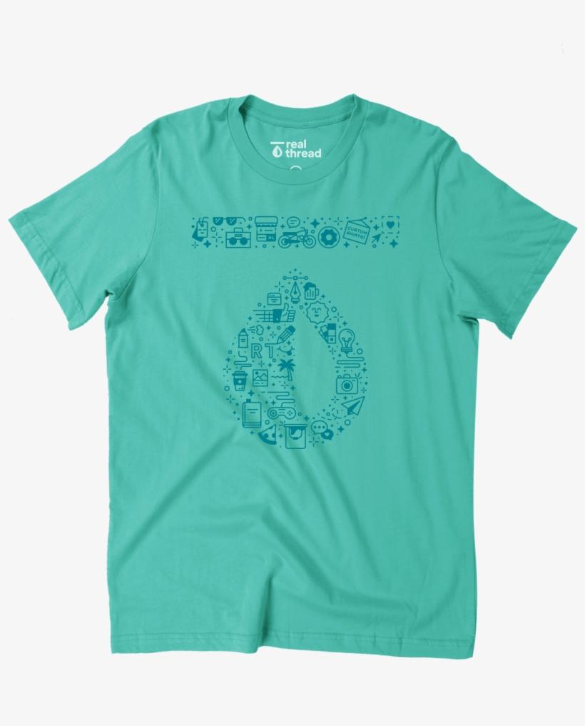 ea8c23dfa Next Level Apparel - T-shirt Transparent PNG - 1800x1800 - Free ...