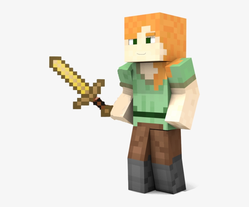 Minecraft Personagens Pesquisa Google Minecraft Alex Png Transparent Png 497x603 Free Download On Nicepng