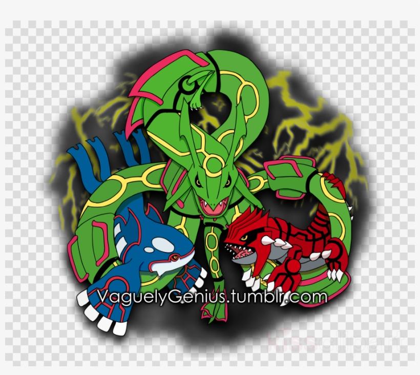 Rayquaza Clipart Groudon Pokémon Emerald Rayquaza