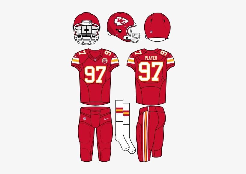 best service 69c55 54098 Kansas City Chiefs - New York Jets Home Uniform Transparent ...