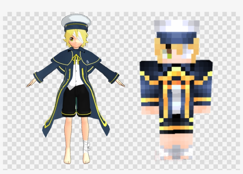 Oliver Minecraft Skin Clipart Minecraft Vocaloid Oliver Transparent