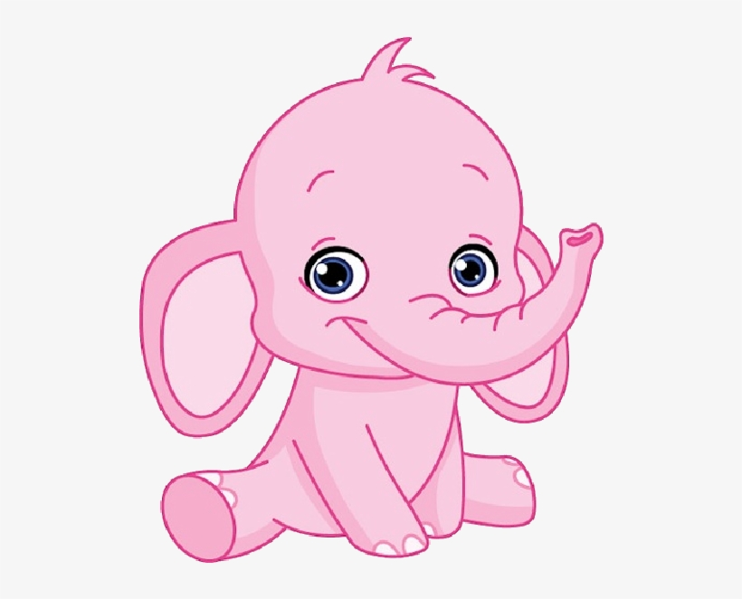 Cartoon Picture Of An Elephant Blue Baby Elephant Baby Shower Transparent Png 600x600 Free Download On Nicepng