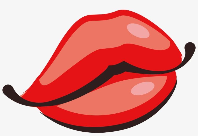 Svg Library Blowing A Kiss Clipart Animated Lips Cute Transparent
