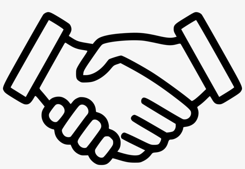 Handshake Comments - Shaking Hands Icon Transparent PNG ...