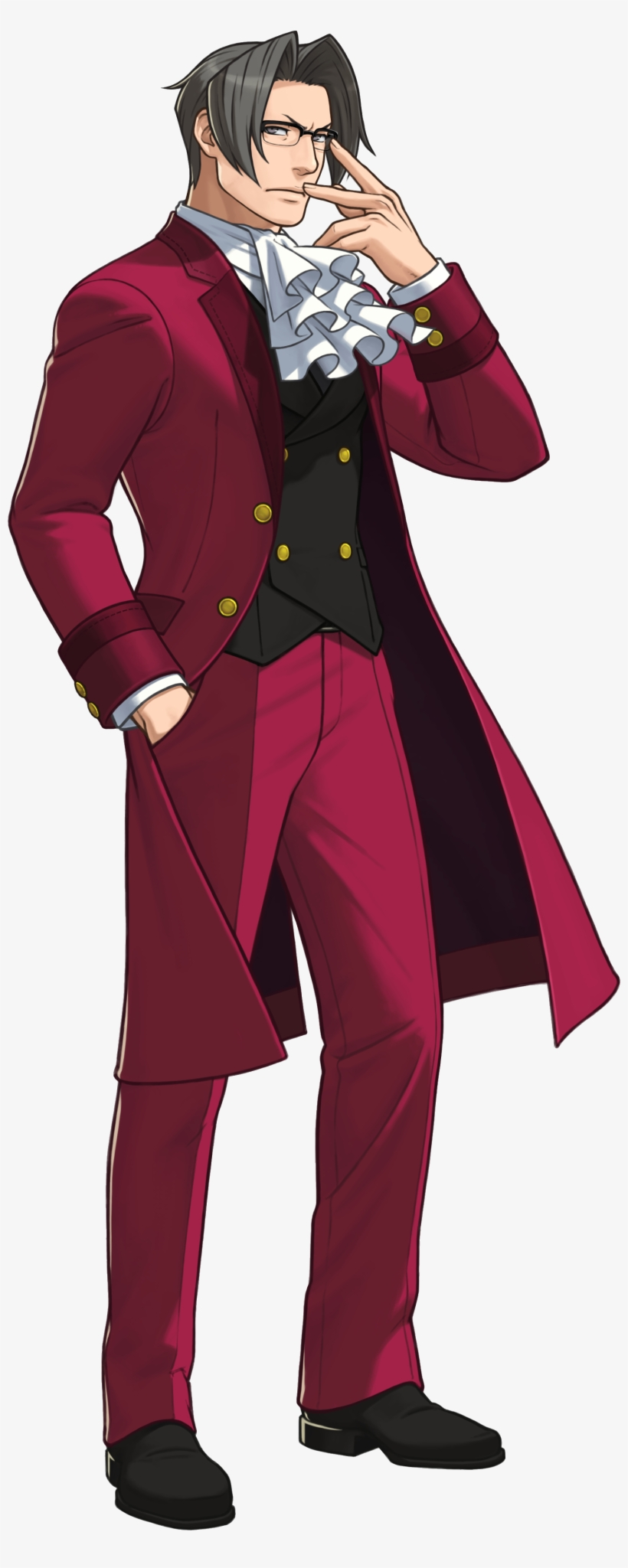 Gyakuten Kenji In Joypolis Miles Edgeworth Ace Attorney 5