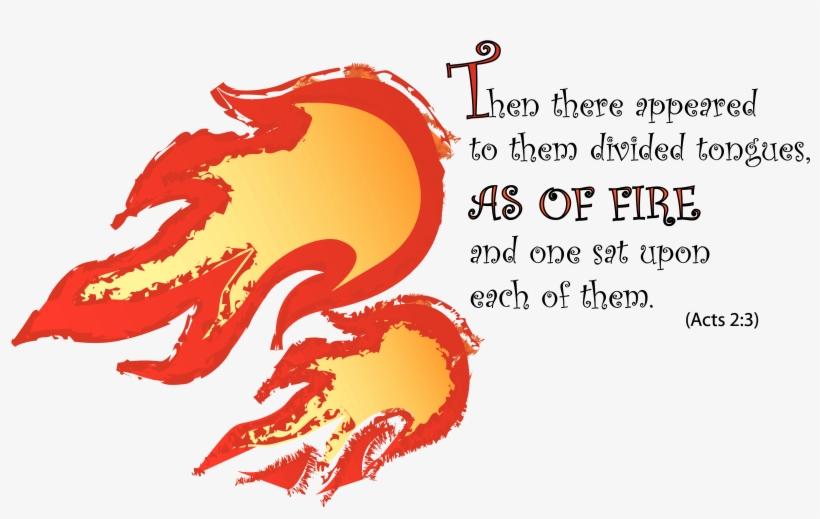 bonfire clipart holy spirit fire pentecost tongues of fire clip