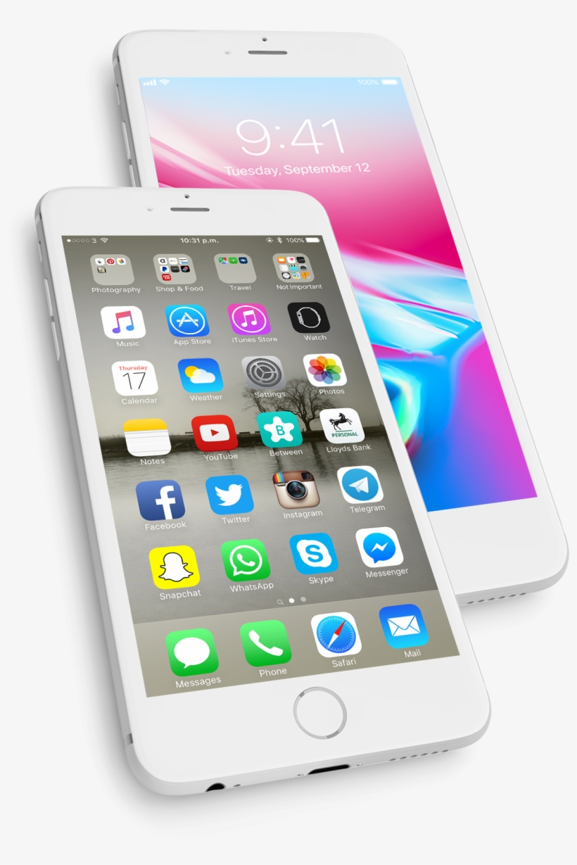 Experts In Customised Iphone Apps Transparent PNG - 1396x2136 - Free