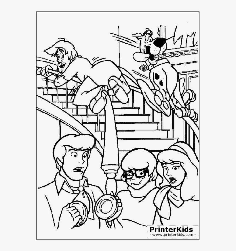 Scooby Doo Coloring Pages - Scooby Doo Colouring Pages Transparent PNG -  567x794 - Free Download On NicePNG