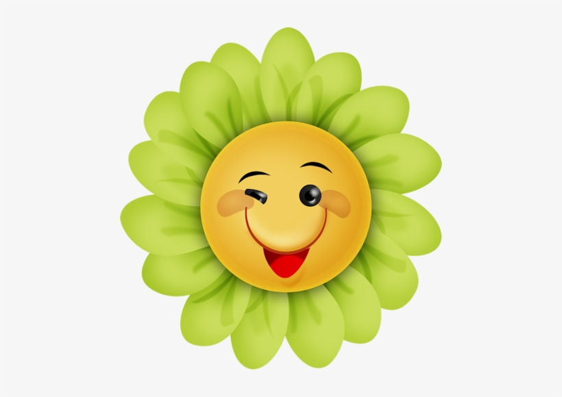 Happy Sunshineflower Cute Cartoon Flowers With Faces Transparent Png 470x500 Free Download On Nicepng