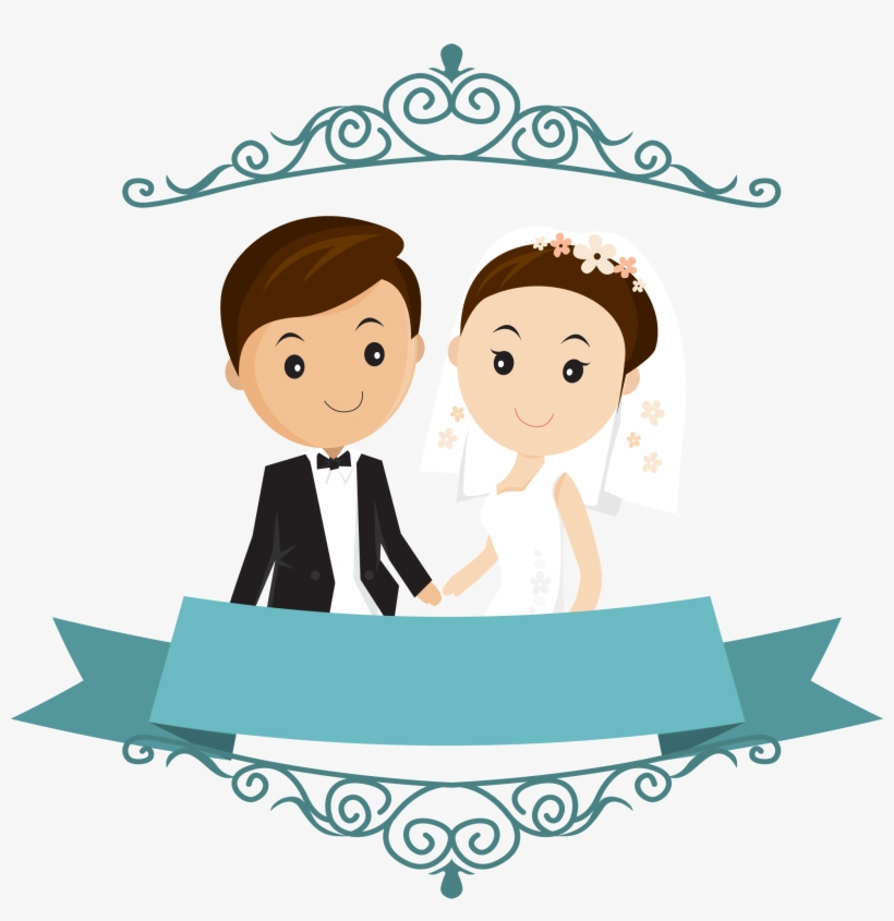 Clipart Library Stock Happy Married Couple Clipart Wedding Couple Cartoon Png Transparent Png 2044x2008 Free Download On Nicepng