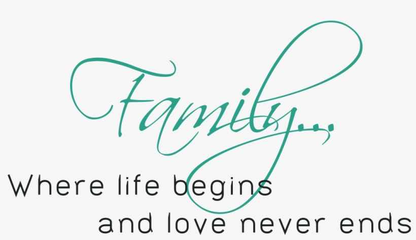 Inspirational Quotes For Broken Family Wall Sticker Families Are