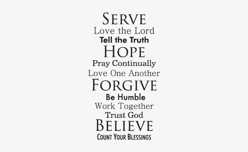 faith quotes belvedere designs llc faith family rules wall decal