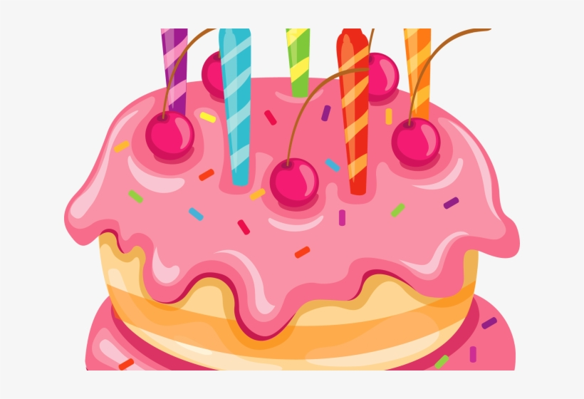 Birthday Cake Clipart Spring