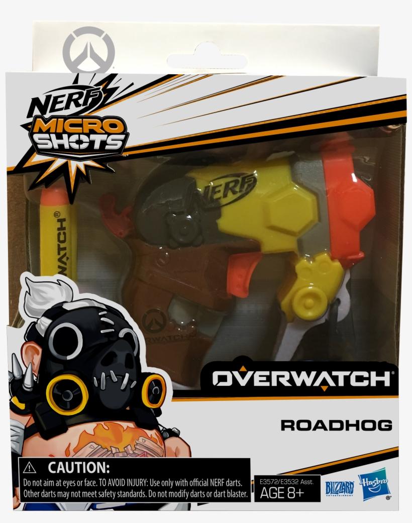 Nerf Microshots Overwatch Series 2 Roadhog - Nerf Micro