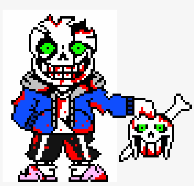 Sans Pixel Art With Grid Koolgadgetz