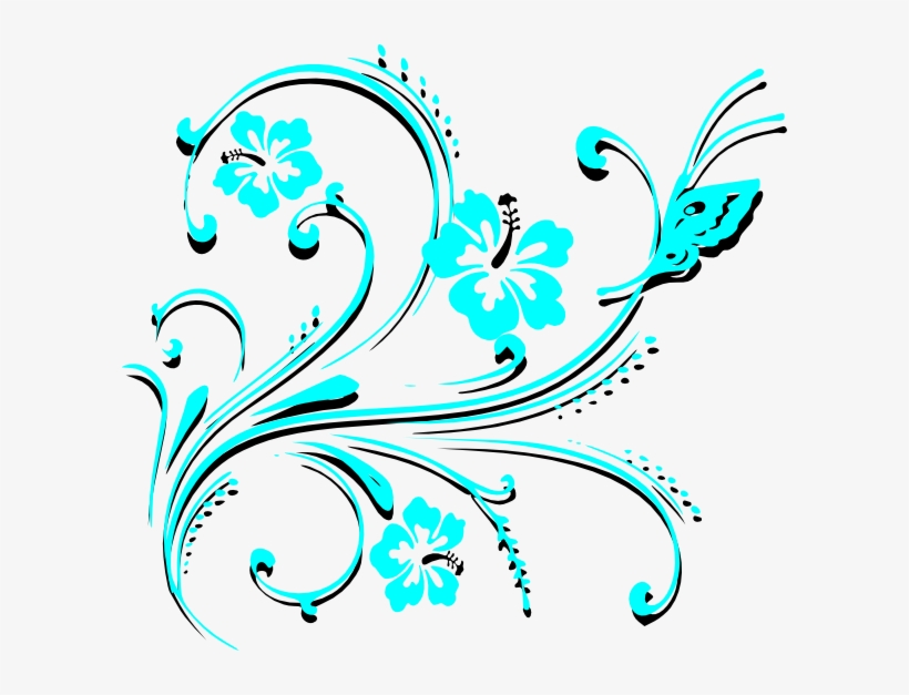 Butterfly Scroll Clip Art Vector Online Royalty Free Card Corner Border Design Png Transparent Png 600x547 Free Download On Nicepng,Simple Latest Mangalsutra Designs In Gold