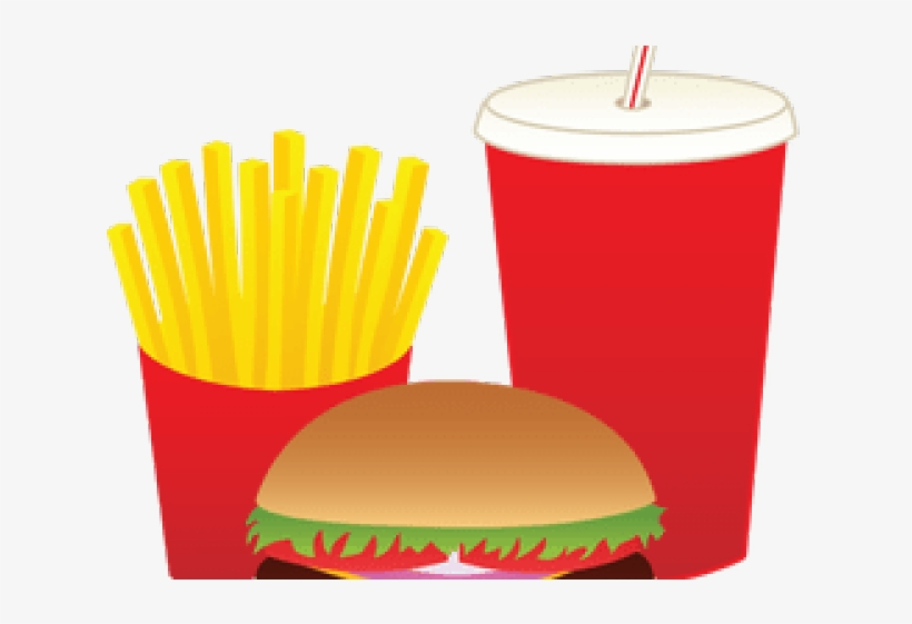 Mcdonalds Clipart Fat Food - French Fries Clipart