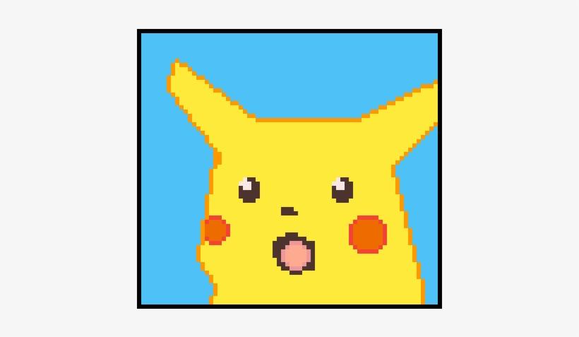 Surprised Pikachu Cartoon Transparent Png 600x600 Free