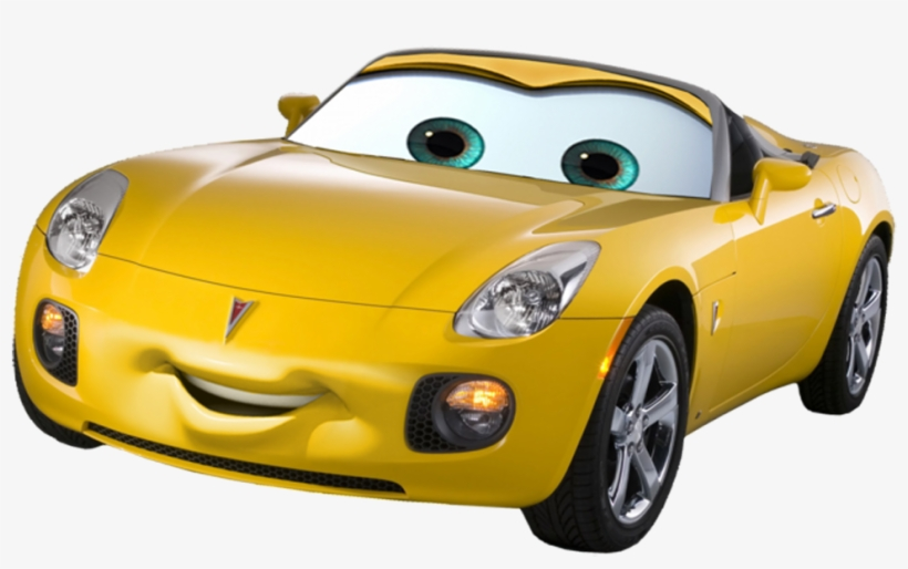 Cars Movie Characters Png Download Pontiac Solstice Transparent