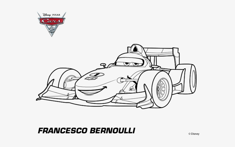Cars 2 Coloring Book Francesco Cars Da Colorare Transparent Png 600x470 Free Download On Nicepng