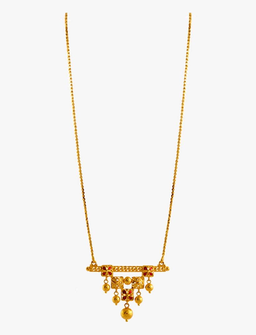 Chandra Jewellers 22k Yellow Gold Neckless Pc Chandra Light Weight Necklace Transparent Png 1000x1000 Free Download On Nicepng