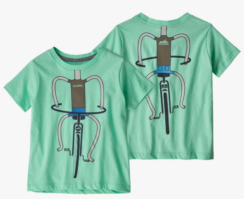 b555821538adb Patagonia Baby Live Simply Organic T-shirt In Pedalin - Active Shirt ...