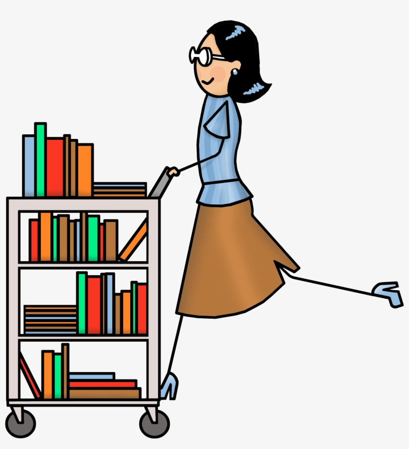 Clipart Library Librarian Library Book Cart Clip Art Transparent Png 3000x2400 Free Download On Nicepng