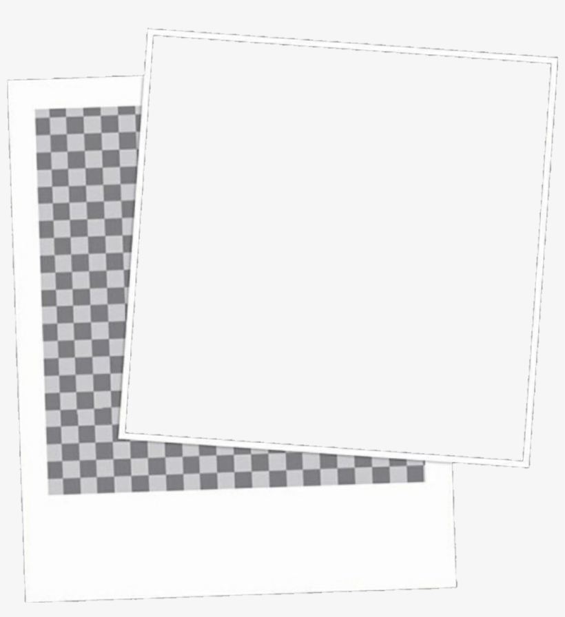 Polaroid Sticker Aesthetic Overlays For Edits Transparent Png