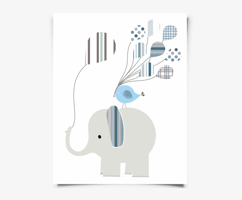 photograph regarding Free Printable Nursery Art known as Totally free Printable Elephant Nursery Artwork For A Tiny Boy - Kid