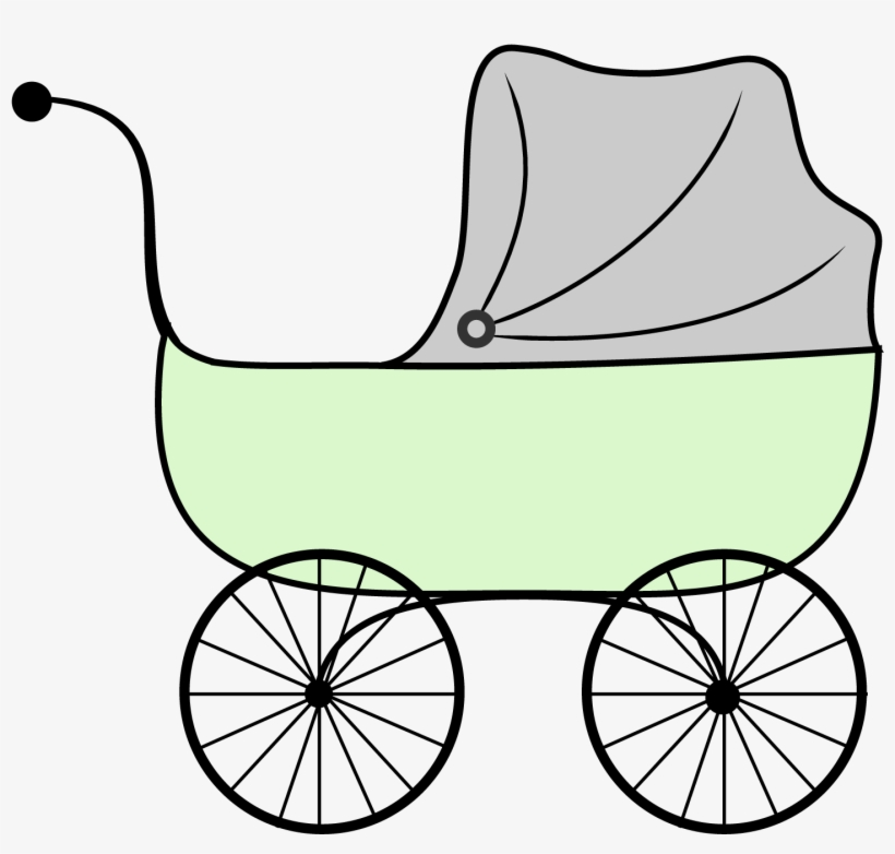 Stroller Of Hearts For Baby Royalty Free Cliparts, Vectors, And Stock  Illustration. Image 12810044.