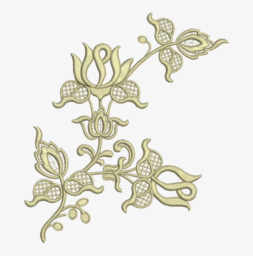 Sue Box Creations Embroidery Designs 16 Flower Applique Floral