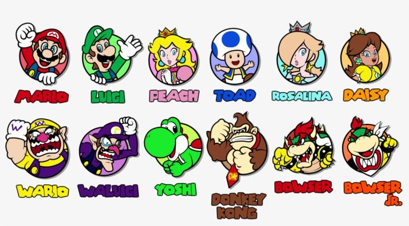 Super Mario 3d World Logo Transparent PNG - 1280x686 - Free