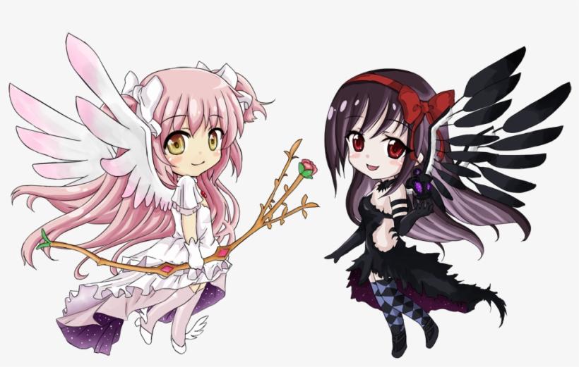 Madoka Magica Homura Devil Madoka Magica Homura Demon Transparent Png 1005x600 Free Download On Nicepng