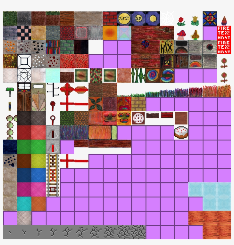 Pilzhaus Preview Pack Terrain Minecraft Default Texture Tileset Transparent Png 2048x2048 Free Download On Nicepng