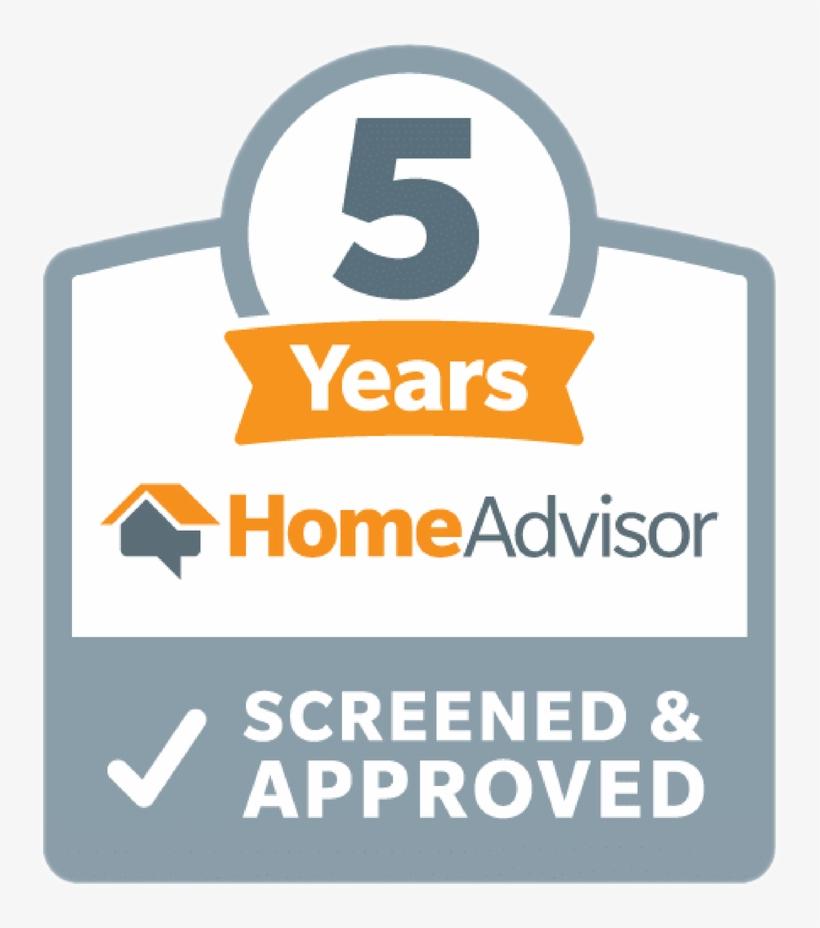 Homeadvisor Tenured Pro Home Advisor Screened And Approved Logo