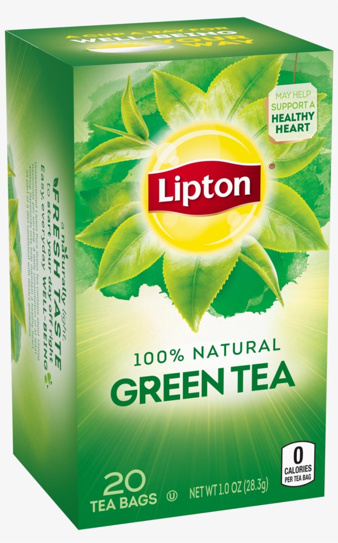 Lipton Green Tea, Decaffeinated, 40