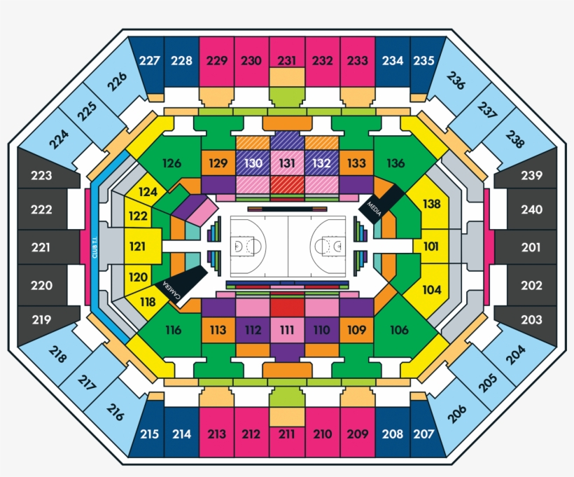 Timberwolves Seating Map Minnesota Ticket Prices