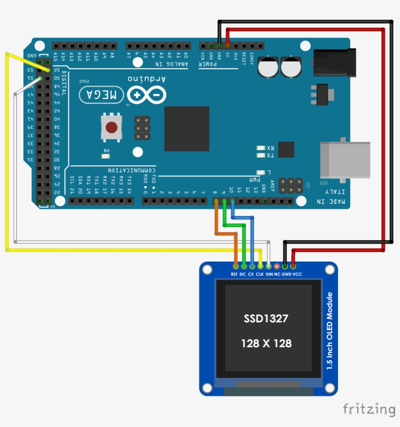 Oled Arduino - Lcd With Arduino Mega Transparent PNG