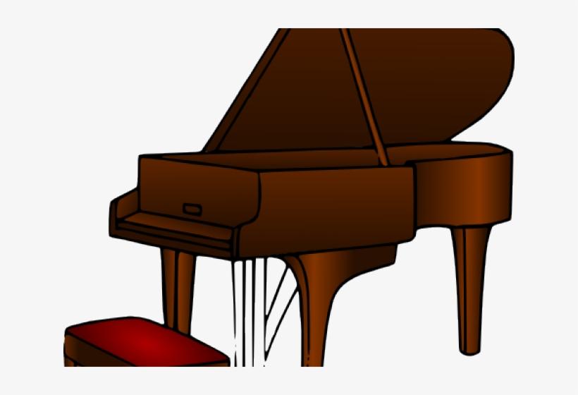 Piano brown. Clipart clip art transparent