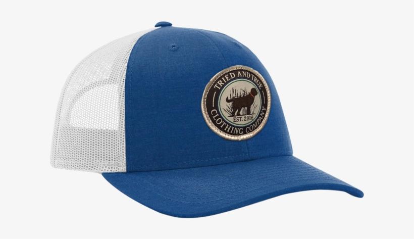 f0ea62a417e3a Tried And True  dog  Trucker Hat -royal light Grey - Baseball Cap ...