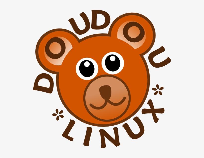 Doudou Penguin Linux Art 555px - Cartoon Bear Face