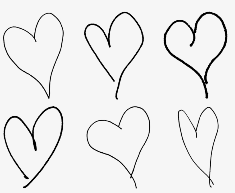 Free Png Download Hand Drawn Heart Png Images Background Hand