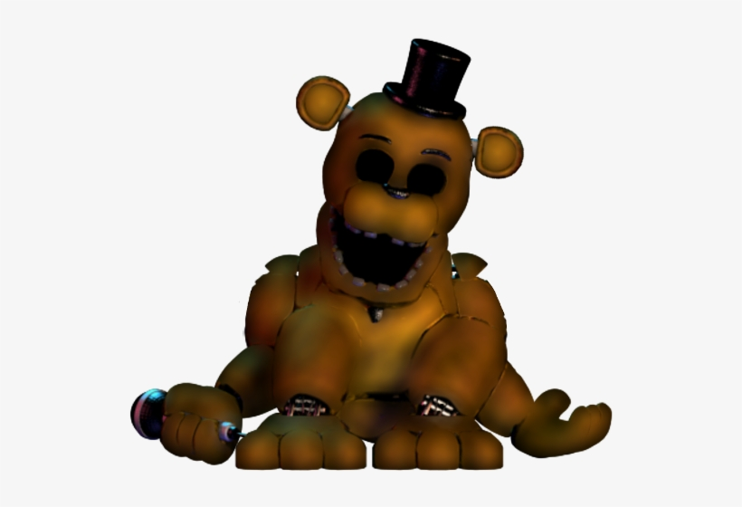 Fixed Withered Golden Freddy Model By - Withered Golden