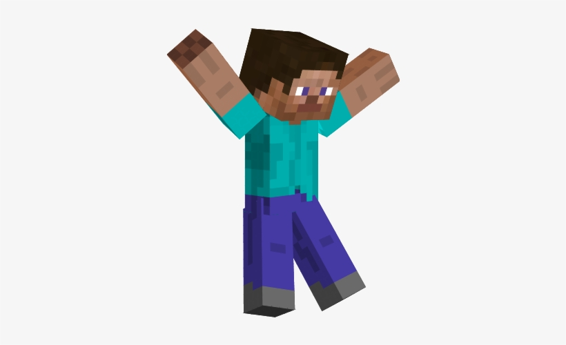Steve Transparent Minecraft Minecraft Steve Transparent Transparent Png 337x430 Free Download On Nicepng