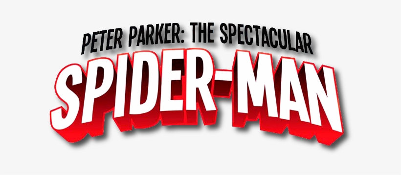 The Spectacular Spiderman Logo Peter Parker The Spectacular Spider Man Vol 1 Into Transparent Png 637x284 Free Download On Nicepng
