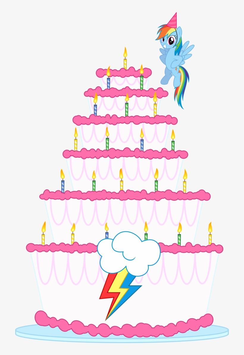 Enjoyable Fanmade Rd Birthday Cake By Gezawatt D750V4G My Little Pony Funny Birthday Cards Online Alyptdamsfinfo
